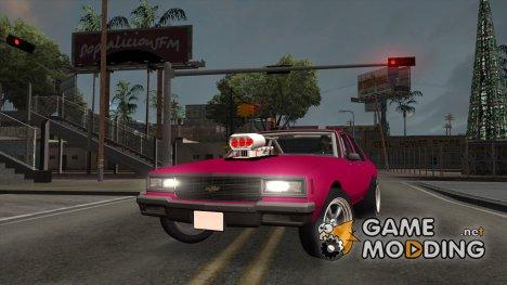 Chevrolet Impala Drag for GTA San Andreas