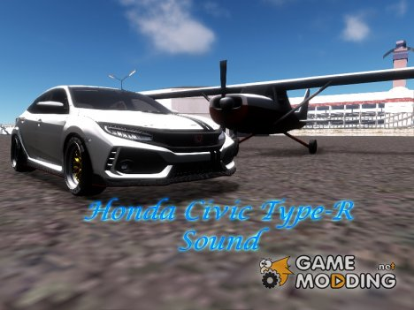 2018 Honda Civic Type-R Sound для GTA San Andreas