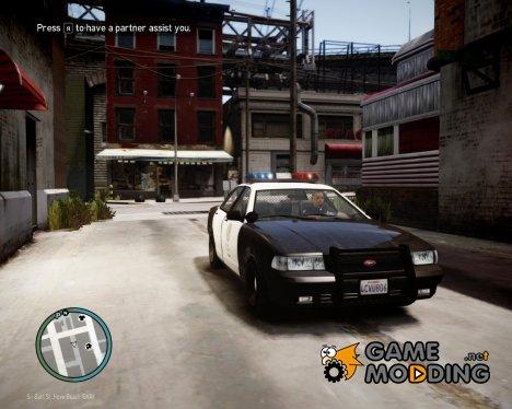 Полицейская машина из GTA V for GTA 4