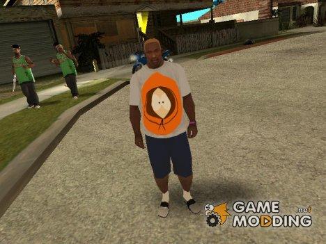 Футболка с Кенни for GTA San Andreas