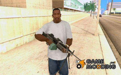 М249 из COD4 for GTA San Andreas