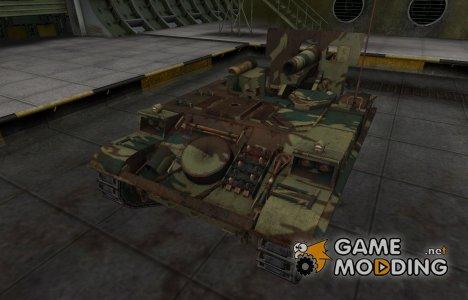 Французкий новый скин для AMX 13 F3 AM for World of Tanks