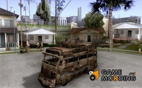 Frontline - MilBus для GTA San Andreas