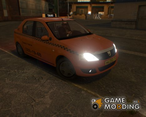 Dacia Logan Taxi for GTA 4