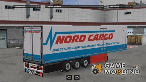 Schmitz SKO Nordcargo для Euro Truck Simulator 2