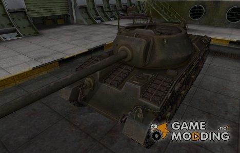 Шкурка для американского танка T28 Prototype для World of Tanks