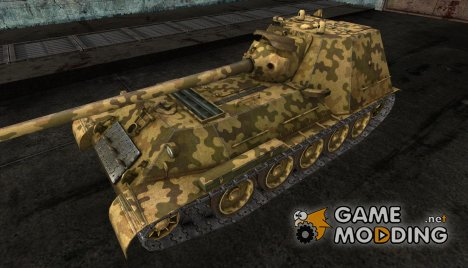 Шкурка для СУ-101М1 for World of Tanks