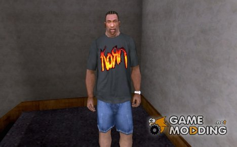Футболка KORN for GTA San Andreas