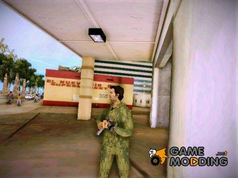 Военный Томми(Russia) для GTA Vice City