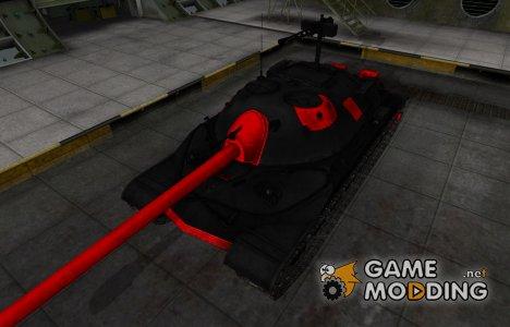 Черно-красные зоны пробития ИС-7 for World of Tanks