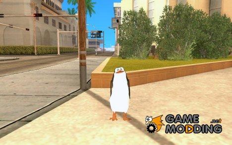 Рико из Мадагаскара for GTA San Andreas