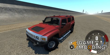 Hummer H3 for BeamNG.Drive