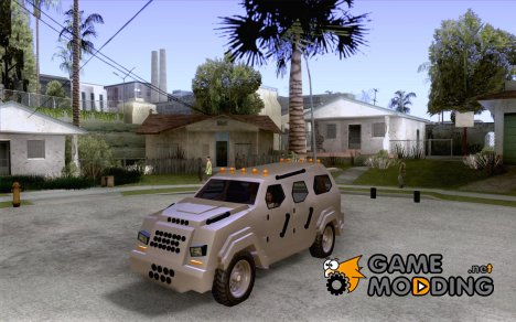 FBI Truck from Fast Five для GTA San Andreas