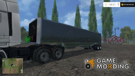 US Wilson Grain Trailer v1.0 for Farming Simulator 2015