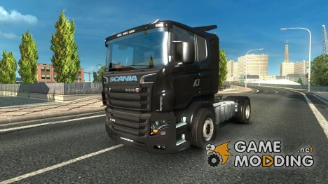 Scania illegal V8 для Euro Truck Simulator 2