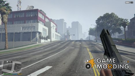 Black HK USP 45 for GTA 5