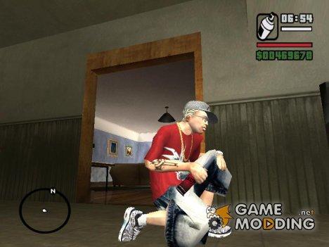Deadpool SprayCan для GTA San Andreas