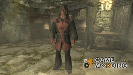 Craftable and Enchantable Dark Brotherhood Mage Gear для TES V Skyrim