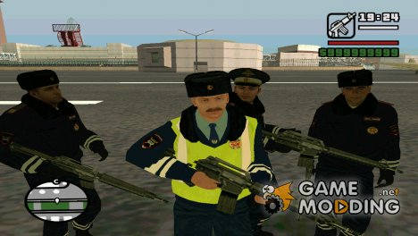 Русская Полиция (Зимняя Форма) for GTA San Andreas