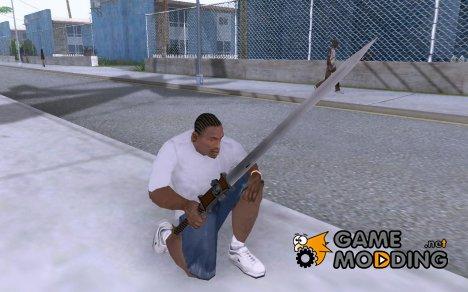 Меч Инквизитора из Warhammer 40.000 для GTA San Andreas