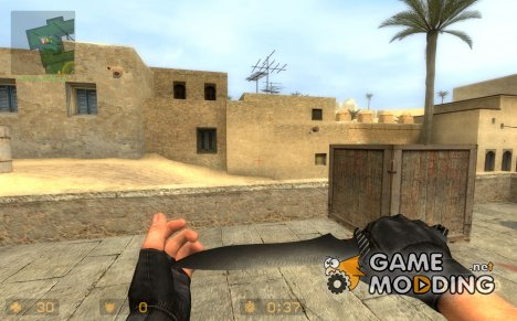 Carbonite Knife for Counter-Strike Source