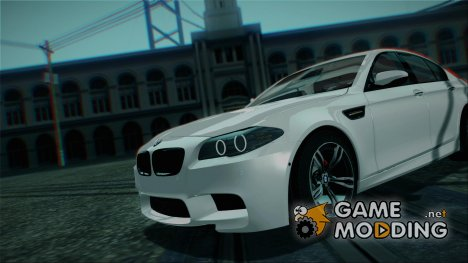 BMW M5 F10 2012 Stock Version для GTA San Andreas