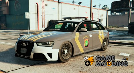 Audi A4 Indonesian Police Patrol for GTA 5