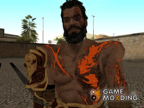 Deimos from God of War 3 for GTA San Andreas
