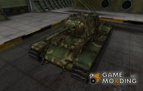 Скин для танка СССР КВ-1 для World of Tanks