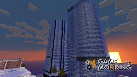 Los Santos (центр) for Minecraft