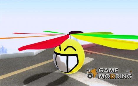 Смайлик в небесах for GTA San Andreas