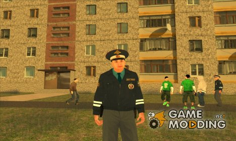 Майор ДПС for GTA San Andreas
