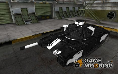 Зоны пробития FV4202 for World of Tanks