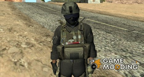 Spec Ops for GTA San Andreas