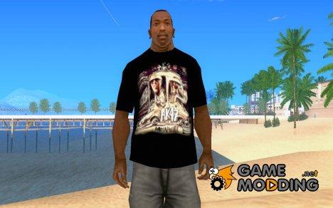 Футболка АК-47 для GTA San Andreas