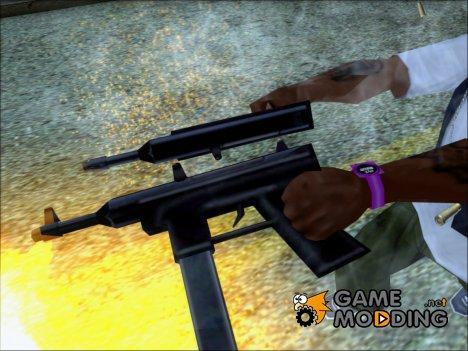 Пистолет-пулемет из игры 25 to life for GTA San Andreas