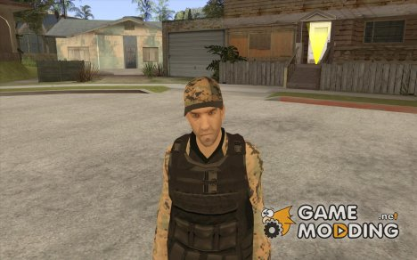 Army Soldier Skin for GTA San Andreas