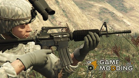 M16 A2 Carbine Mod 727 2.0 for GTA 5
