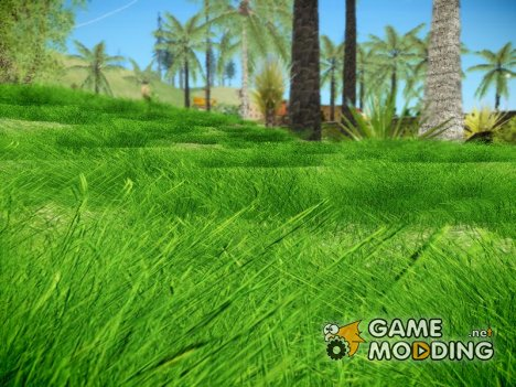 Super Realistic Grass для GTA San Andreas