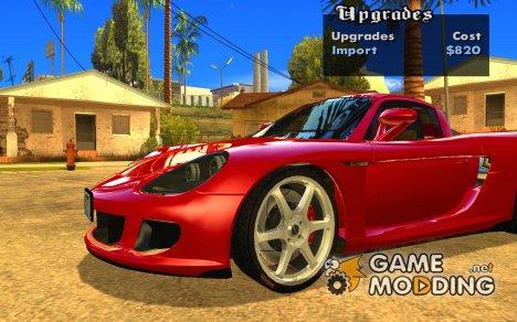 Колёса из игры Juiced 2.Pack#1 для GTA San Andreas