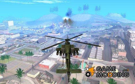 Тепловые ракеты для Hunter (ASI-плагин) для GTA San Andreas