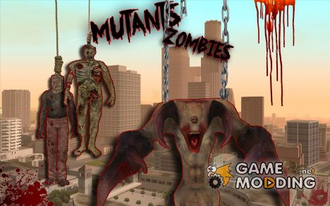Пак мутантов for GTA San Andreas