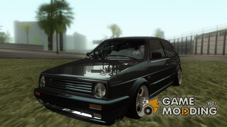 VW Golf MK2 eXqable's Customs for GTA San Andreas