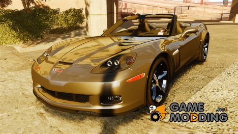 Chevrolet Corvette C6 2010 Convertible для GTA 4