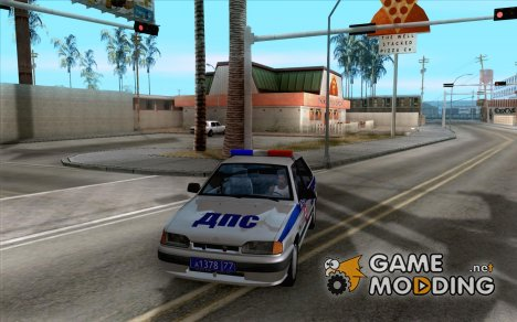 ВАЗ 2114 ДПС for GTA San Andreas