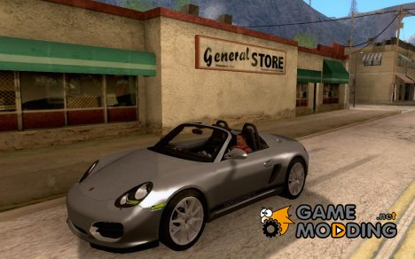Porsche Boxter Spyder by Armin for GTA San Andreas