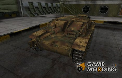 Немецкий скин для StuG III для World of Tanks