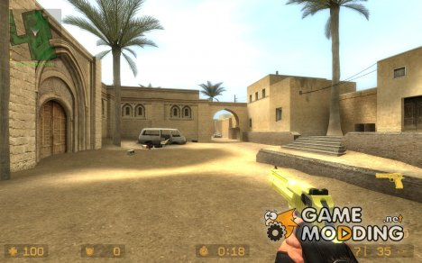Golden Desert Eagle для Counter-Strike Source