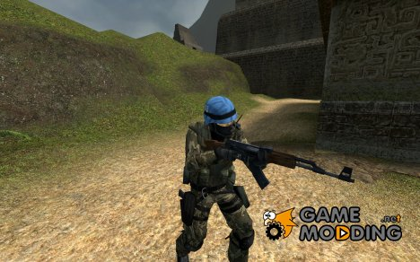 Urban UN Soldier New Texture для Counter-Strike Source