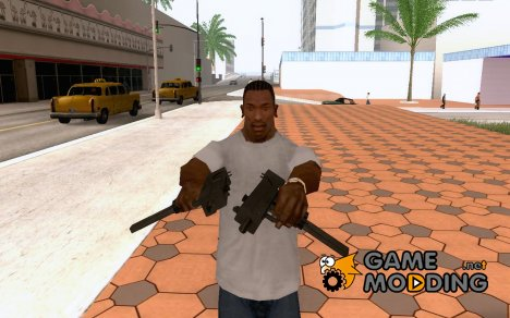 Micro Uzi HD for GTA San Andreas